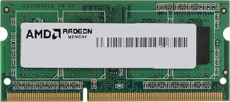 Модуль оперативной памяти AMD Radeon SO-DIMM DDR3 4GB 1600MHz (R534G1601S1S-UGO)