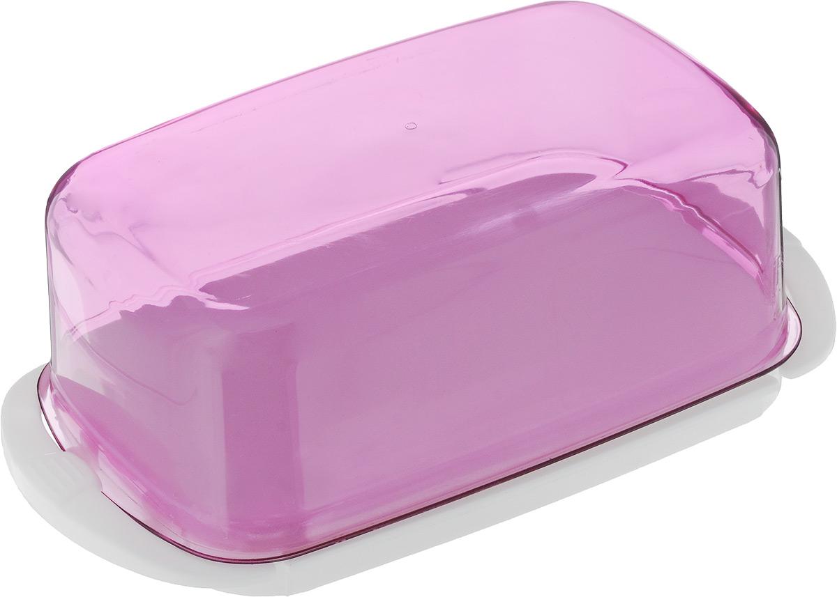 Масленка Giaretti, цвет в ассортименте, 18 х 9,5 х 6,5 см контейнер giaretti цвет кремовый прозрачный 29 2 х 17 х 11 см