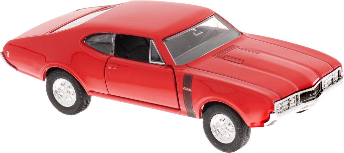 Welly Модель автомобиля Oldsmobile 442 1968