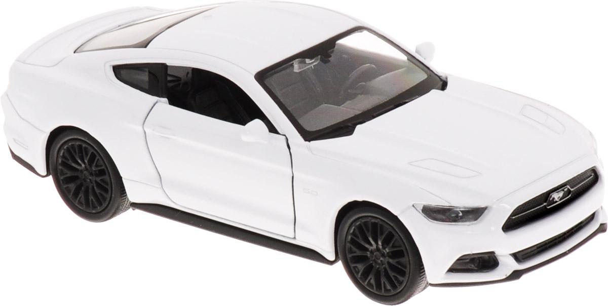 Welly Модель автомобиля Ford Mustang GT 2015 цвет белый