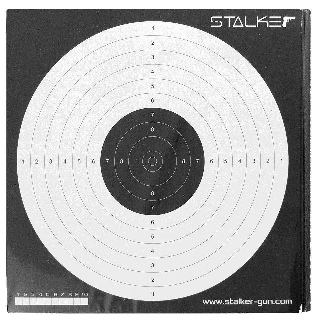 Мишень для пневматики Нева-Таргет Stalker №17, 17 х 17 см, 50 шт gangxun 17