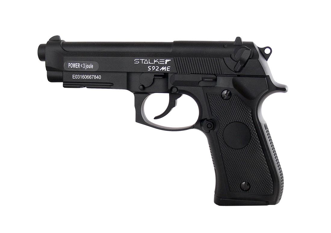 Пистолет пневматический Stalker S92ME, (аналог Beretta 92). ST-11051ME магазин stalker для пневматических пистолетов модели s92pl и s92me