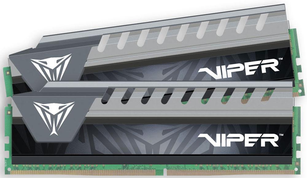 Комплект модулей оперативной памяти Patriot Viper Elite DDR4 2x8Gb 2133 МГц, Grey  (PVE416G213C4KGY)