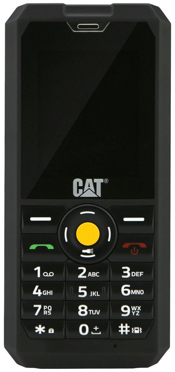 Мобильный телефон Caterpillar Cat B30, черный цена