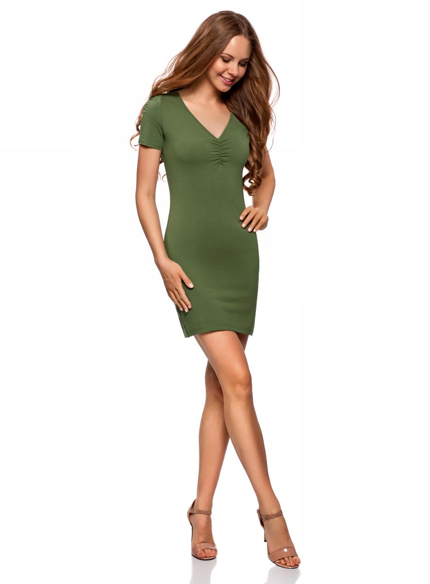 Платье oodji платье oodji ultra цвет темно синий 14001071 2b 46148 7900n размер xxs 40