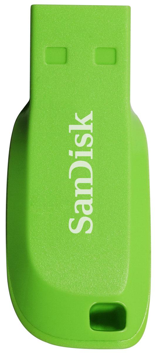 SanDisk Cruzer Blade 64GB, Green USB-накопитель