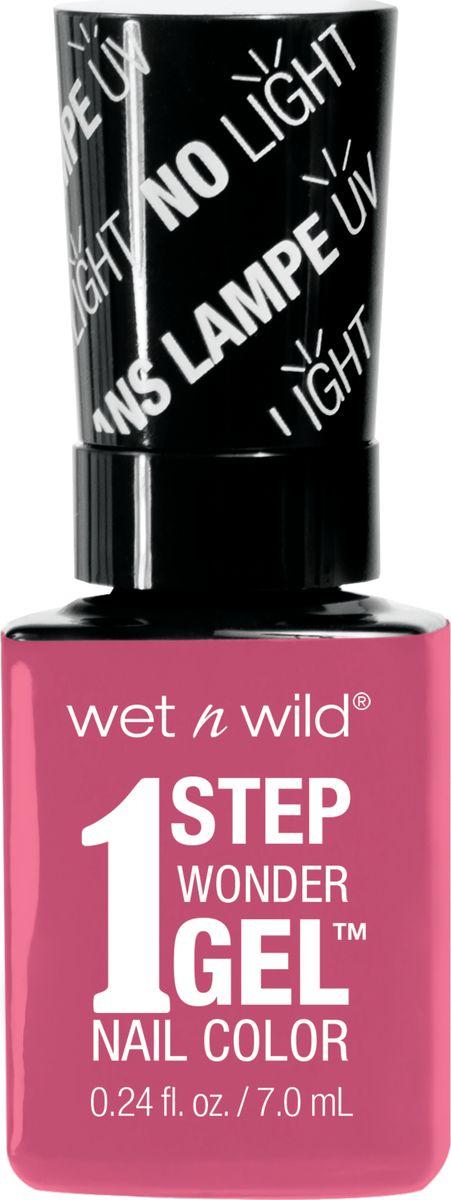 Wet n Wild Гель-лак для ногтей 1 Step Wonder Gel E7222 missy in pink цена