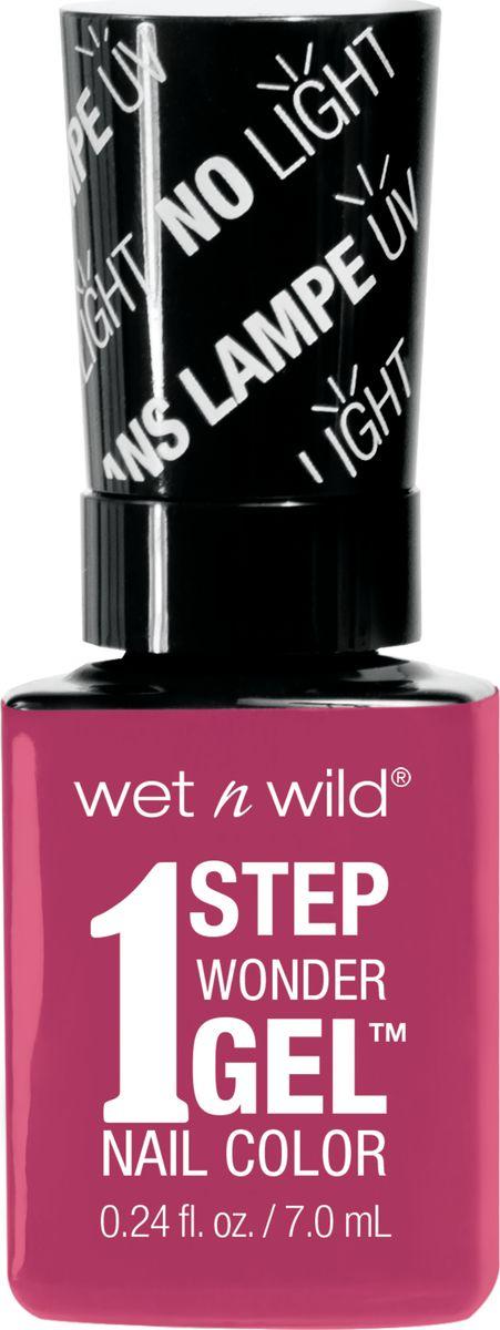 Wet n Wild Гель-лак для ногтей 1 Step Wonder Gel E7231 it`s sher-bert day wet n wild лак для ногтей wild shine nail color burgundy frost 13 мл