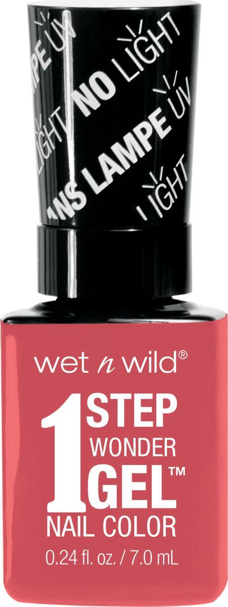 Wet n Wild Гель-лак для ногтей 1 Step Wonder Gel E7251 coral support wet n wild лак для ногтей wild shine nail color burgundy frost 13 мл