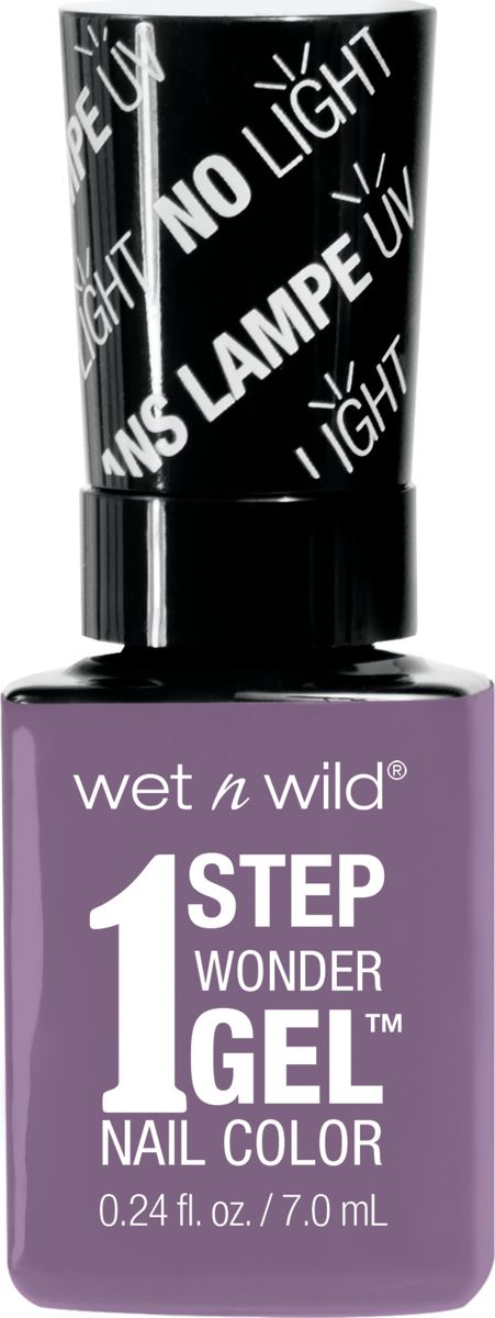 Wet n Wild Гель-лак для ногтей 1 Step Wonder Gel Е7281 lavender out loud wet n wild лак для ногтей wild shine nail color burgundy frost 13 мл