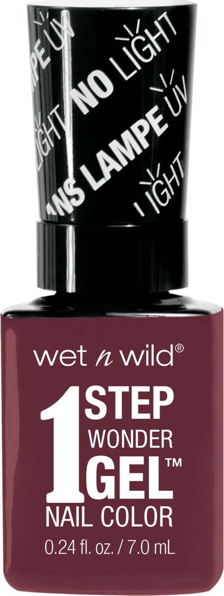 Wet n Wild Гель-лак для ногтей 1 Step Wonder Gel E7331 left marooned wet n wild лак для ногтей wild shine nail color burgundy frost 13 мл