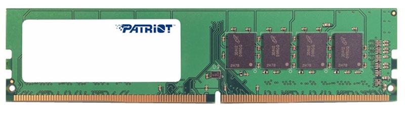 Модуль оперативной памяти Patriot DDR4 4Gb 2400 МГц (PSD44G240082)