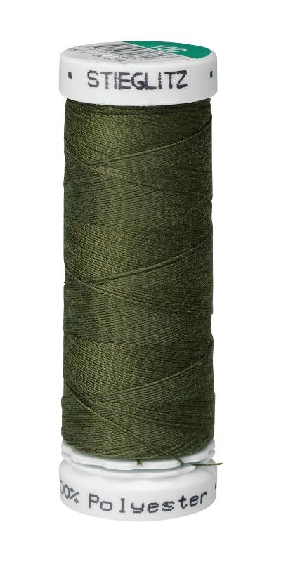 Нитки швейные ПНК им. Кирова Stieglitz, цвет: темно-оливковый (5702), 50 м, 5 шт