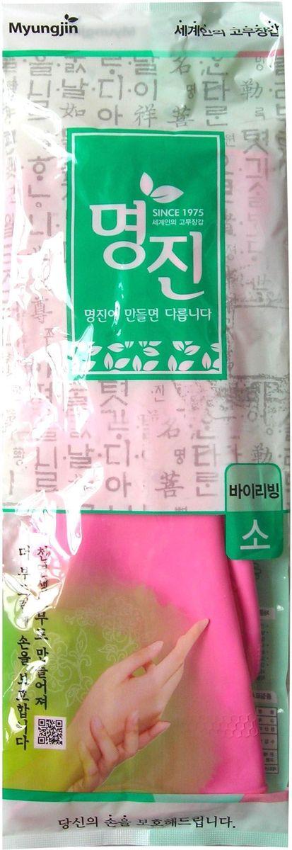 Перчатки хозяйственные MYUNGJIN / латексные, размер: S. H2, арт. 465646