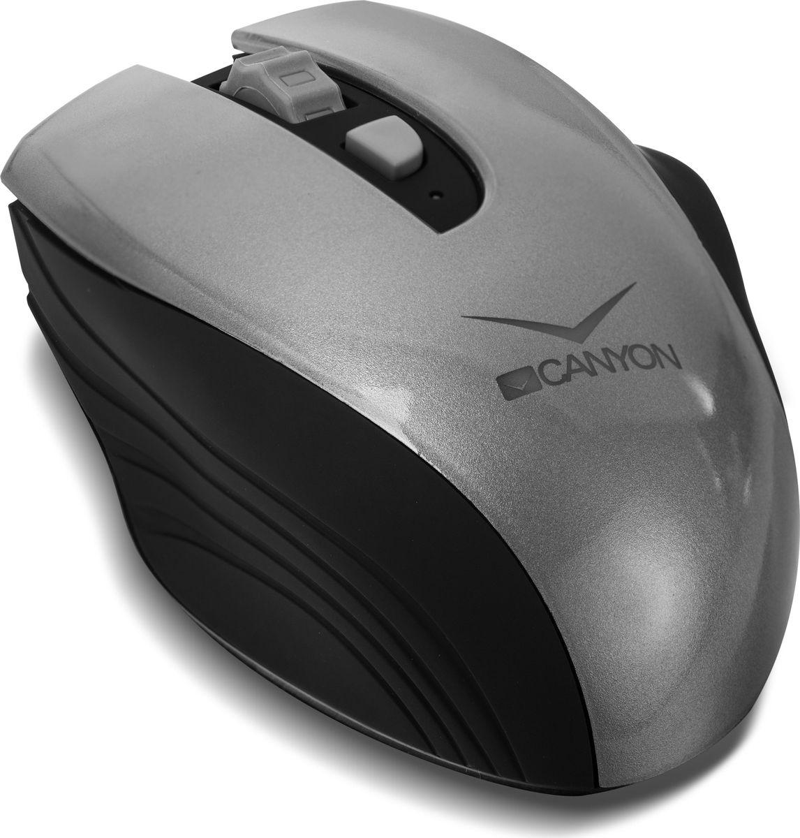 Canyon CNS-CMSW7G, Graphite мышь беспроводная