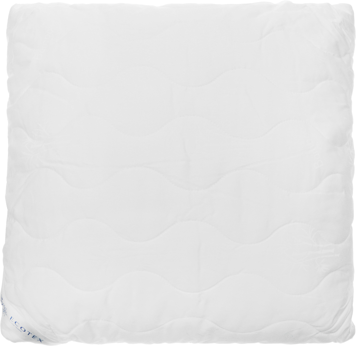 Подушка Ecotex Бамбук - Роял, наполнитель: пух, полиэстер, 68 х 68 см подушка ecotex эдда наполнитель пух 68 х 68 см