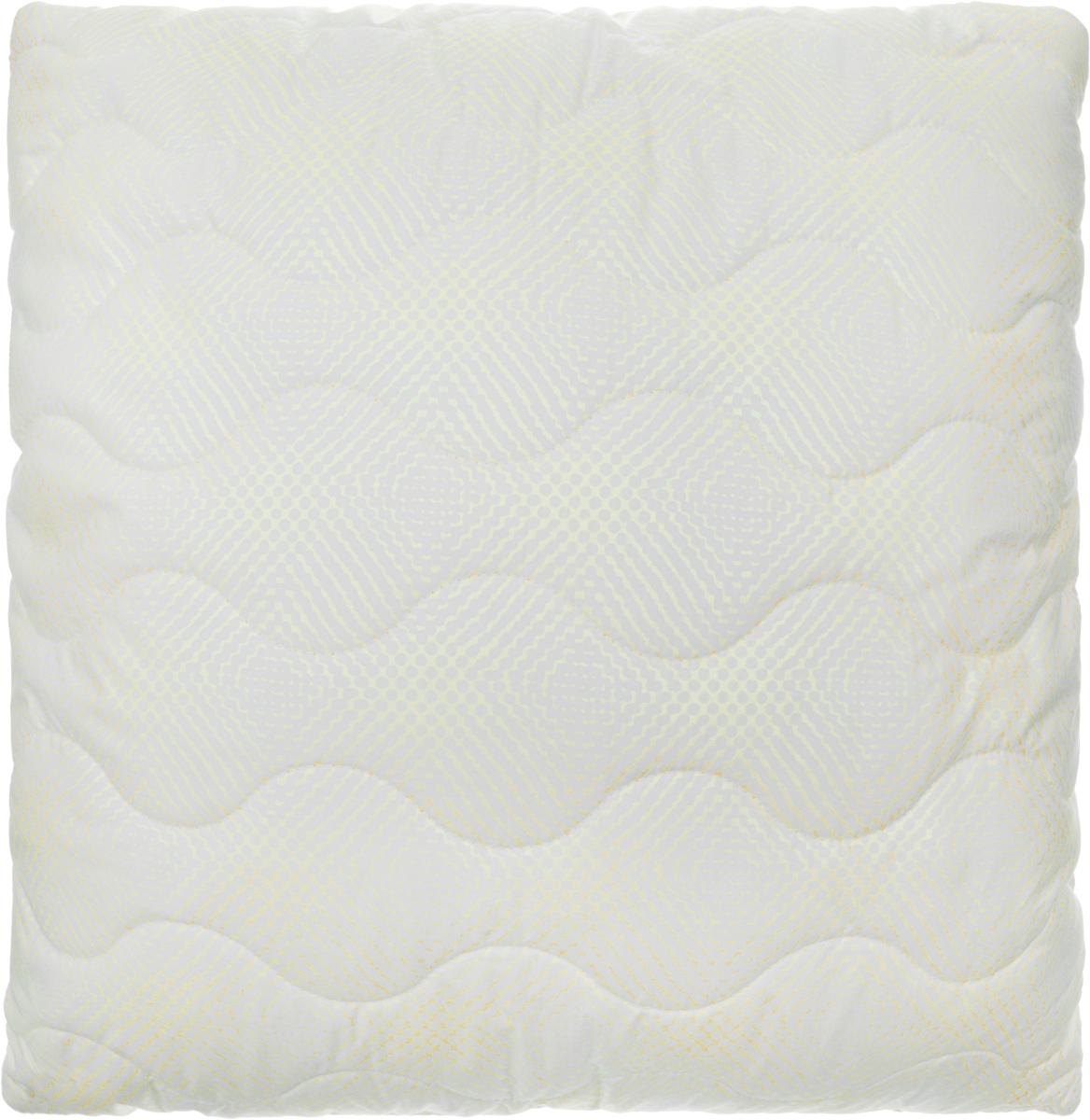 Подушка Ecotex Бамбук - Комфорт, наполнитель: полиэстер, 68 х 68 см подушка ecotex эдда наполнитель пух 68 х 68 см