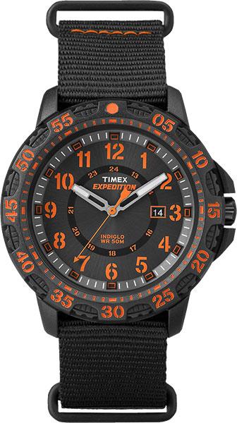 Наручные часы мужские Timex Expedition, цвет: черный, оранжевый. TW4B05200 все цены