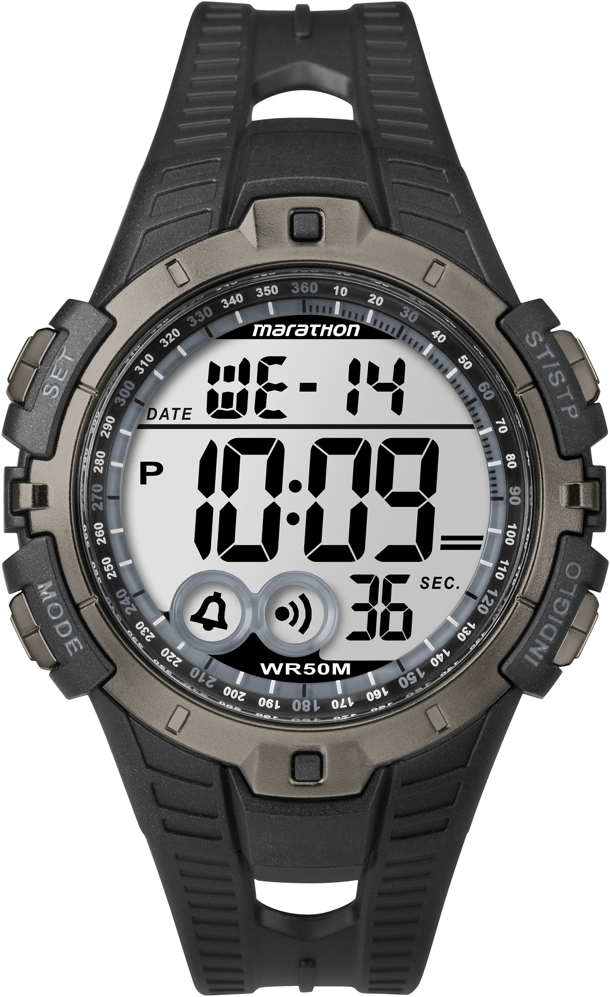 Наручные часы мужские Timex Marathon, цвет: черный. T5K802 наручные часы timex marathon цвет черный t5k803