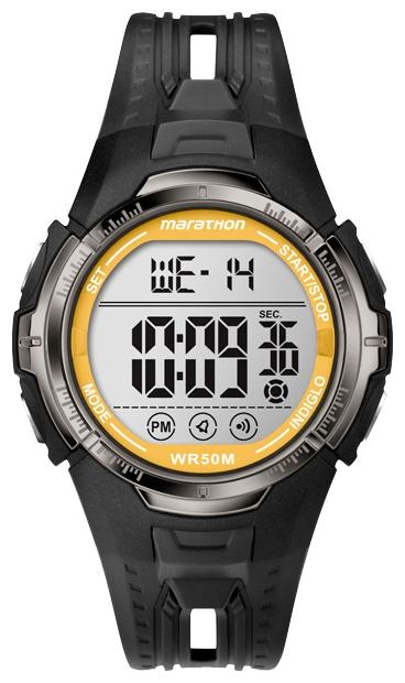 Наручные часы Timex Marathon, цвет: черный. T5K803