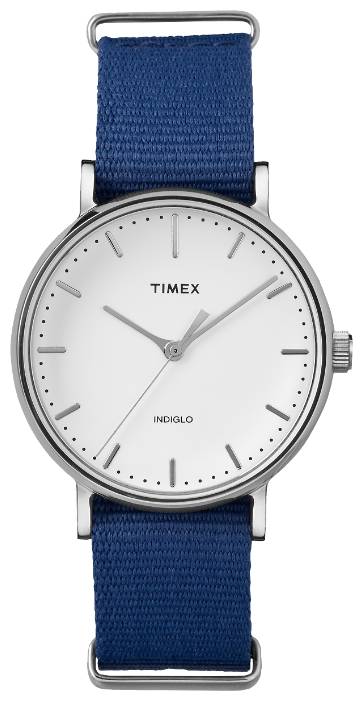 Наручные часы женские Timex Weekender, цвет: серебряный. TW2P98200