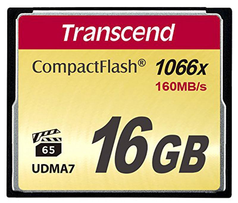 цена на Transcend CompactFlash 1066X 16GB карта памяти (TS16GCF1000)