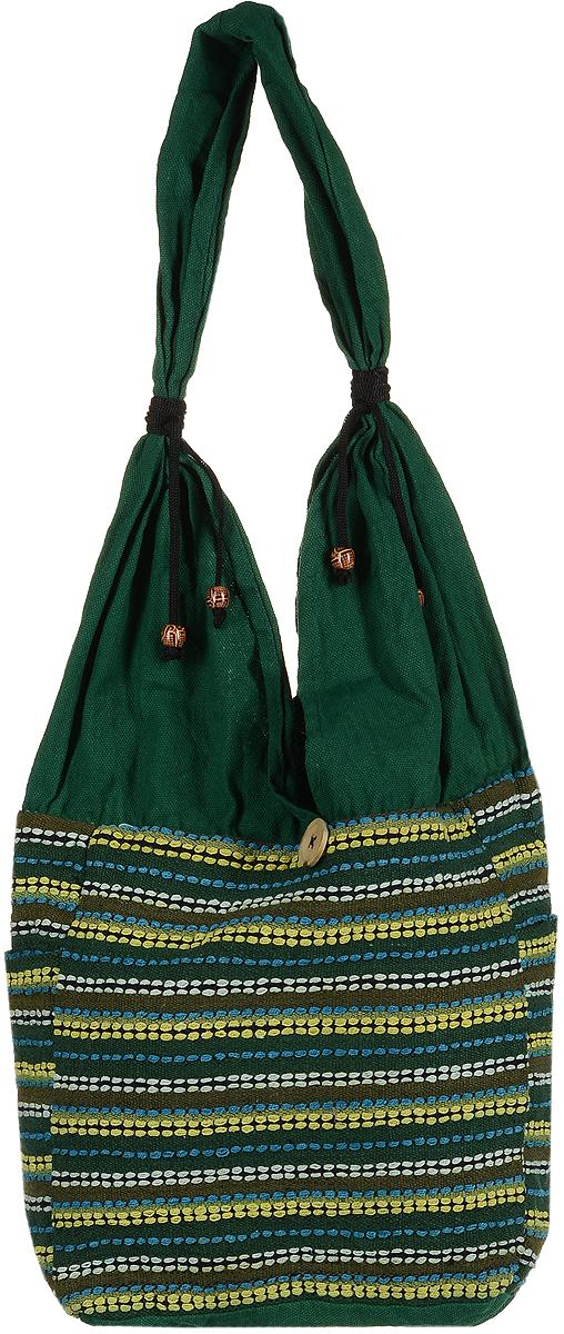 Сумка женская Ethnica, цвет: зеленый. 122150 цена