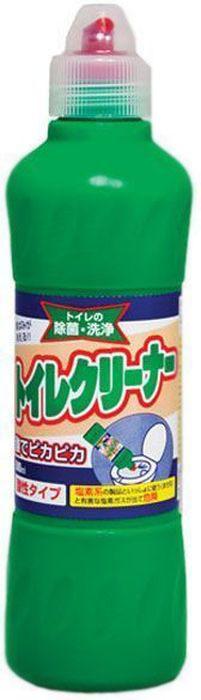 Средство чистящее для унитаза Mitsuei, 500 мл чистящее средство для унитаза bref сила актив с хлор компонентом 50г
