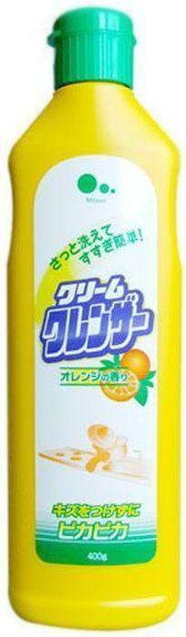 """Крем для очищения поверхностей без царапин """"Mitsuei"""", с ароматом апельсина, 400 г"""