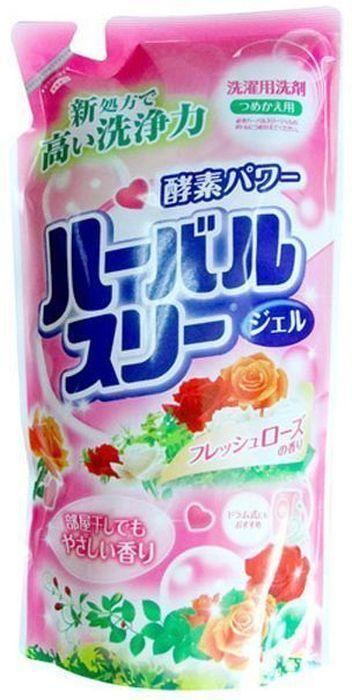 Гель для стирки Mitsuei, с ароматом роз, 800 мл