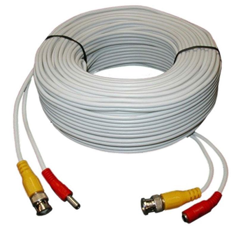 IVUE CPV40-AHD, White кабель для системы видеонаблюдения, 40 м ivue clever dog 6w white камера видеонаблюдения