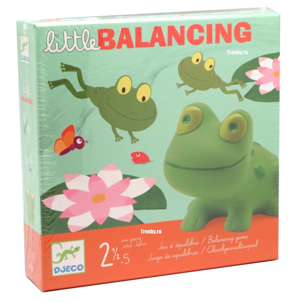 Djeco Обучающая игра Лягушачий балансир djeco обучающая игра счеты