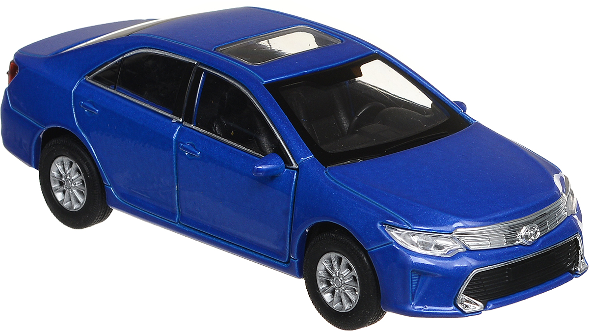 Welly Модель автомобиля Toyota Camry цвет синий motormax модель автомобиля corvette 1967 цвет черный