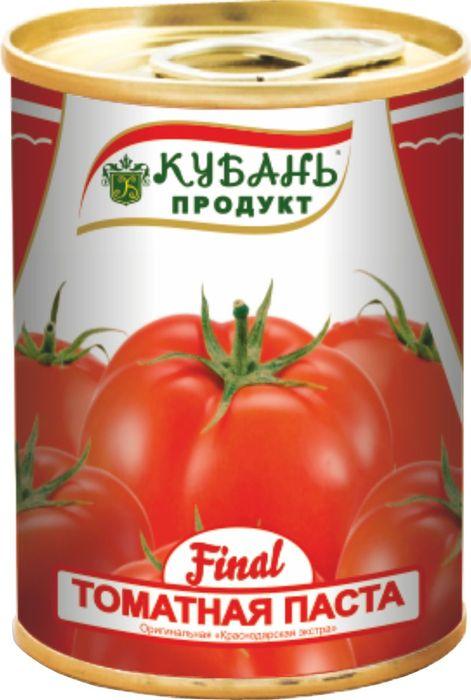 Кубань Продукт паста томатная, 140 г кубань продукт компот вишневый 1 л