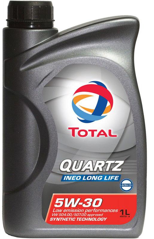 Моторное масло Total Quartz Ineo Long Life 5W-30, 1 л total quartz ineo ecs 5w 30 4 л