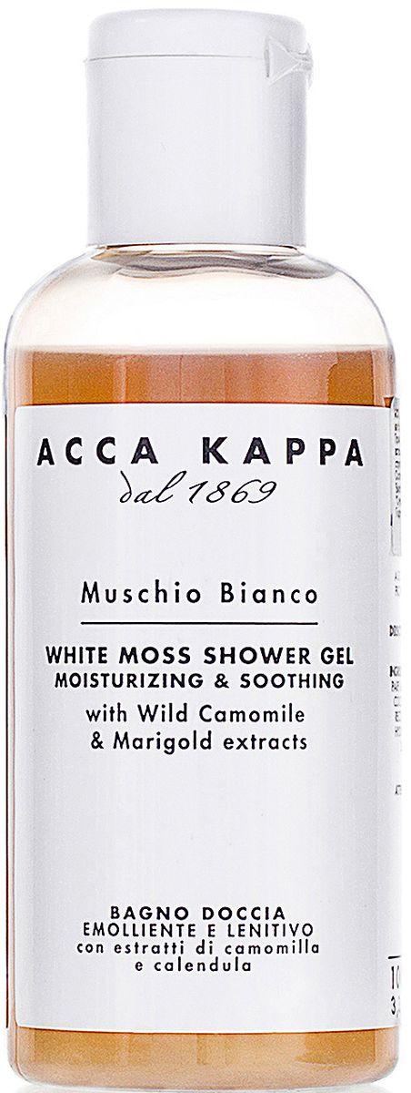 Acca Kappa Гель для душа и ванны Белый Мускус, 100 мл молочко для тела acca kappa acca kappa ac001ludwbq9
