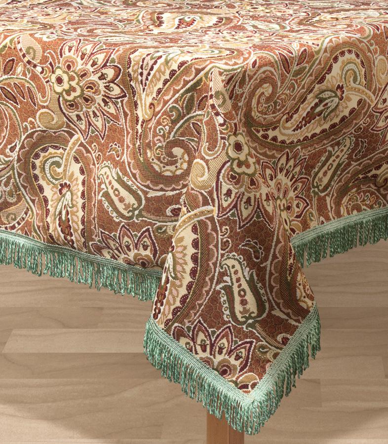 Скатерть Les Gobelins Vostochnaya Skazka, квадратная, 130 х 130 см покрывало на кресло les gobelins mexique 50 х 120 см