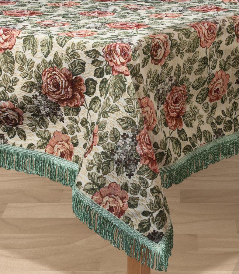 Скатерть Les Gobelins Art Floral, прямоугольная, 150 х 190 см покрывало на кресло les gobelins mexique 50 х 120 см