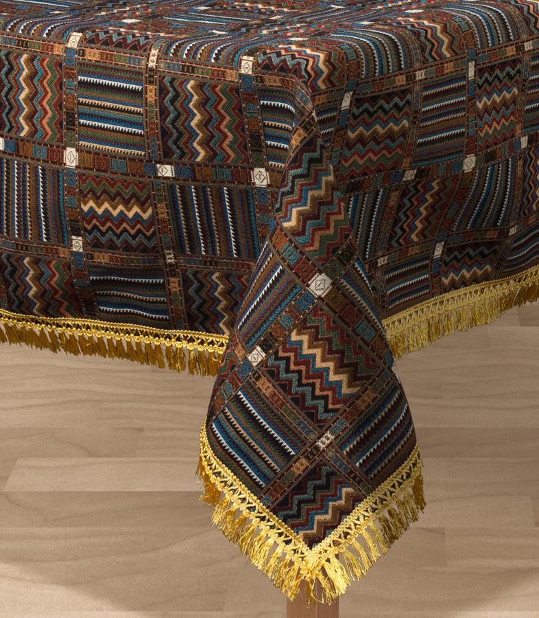 Скатерть Les Gobelins Mexique, квадратная, 130 х 130 см покрывало на кресло les gobelins mexique 50 х 120 см