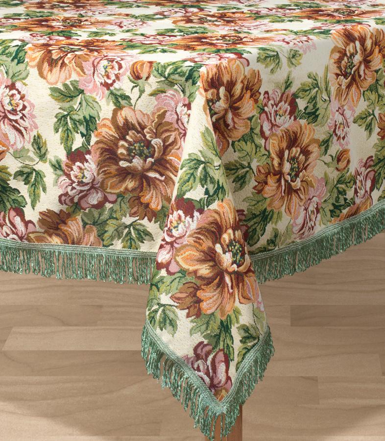 Скатерть Les Gobelins Pivoines, прямоугольная, 150 х 190 см покрывало на кресло les gobelins mexique 50 х 120 см