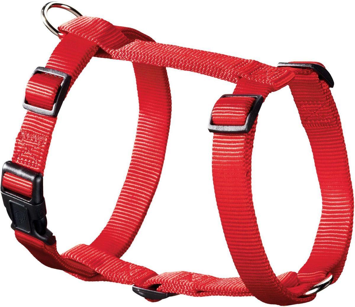 Шлейка для собак Hunter Smart. Ecco Sport XS, нейлоновая, обхват шеи: 23-35 см, обхват груди: 25-41 см, цвет: красный hunter smart hunter шлейка для собак manoa xs 35 41 см нейлон сетчатый текстиль голубой