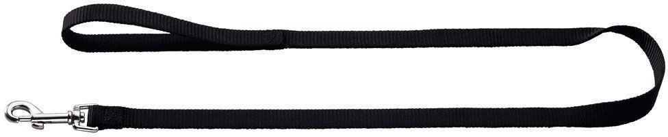 Поводок для собак Hunter Smart Ecco, цвет: черный, длина 110 см hunter smart hunter smart игрушка для собак свинка сэм 10 см латекс