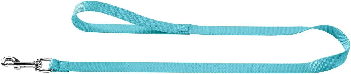 Поводок для собак Hunter Ecco, цвет: бирюзовый, ширина 10 мм, длина 1,1 м поводок для собак hunter smart ecco цвет бирюзовый длина 110 см