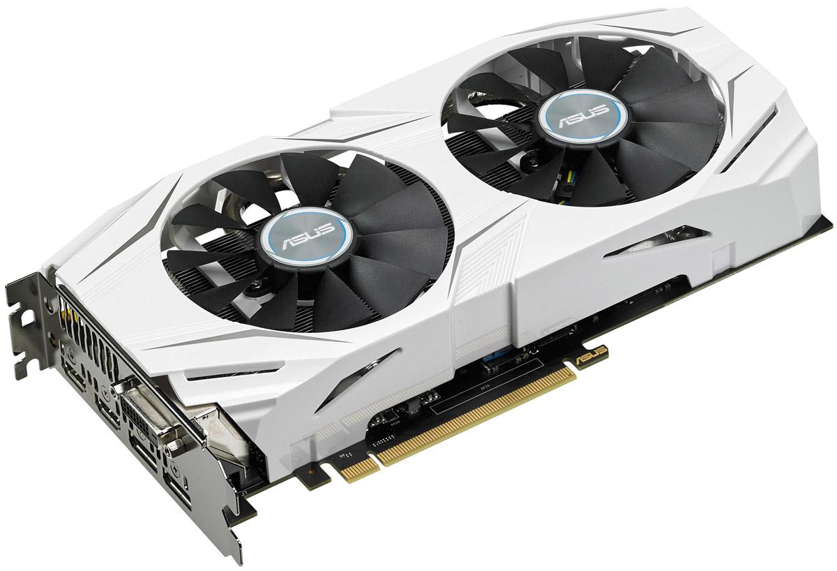 Видеокарта ASUS Dual GeForce GTX 1070 O8G 8GB, DUAL-GTX1070-O8G цена в Москве и Питере