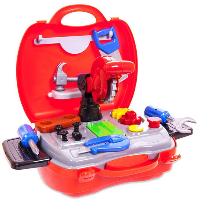 ABtoys Игровой набор Чудо-чемоданчик Набор инструментов 19 предметов