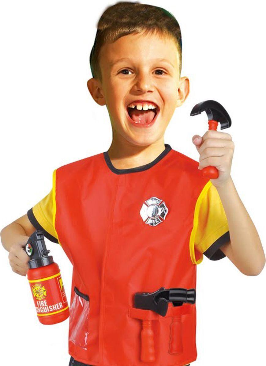 Город игр Костюм игровой Пожарник с аксессуарами