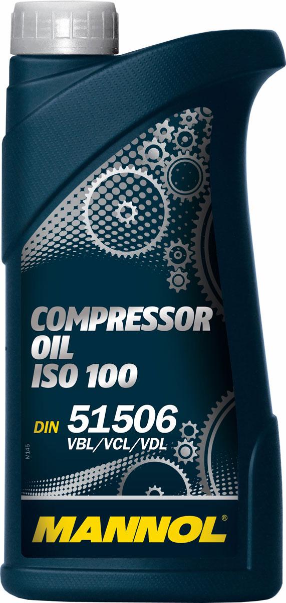 Масло моторное MANNOL Compressor Oil, ISO 100, минеральное, 1 л компрессоры