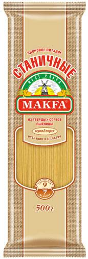Makfa Станичная вермишель длинная, 500 г идия фахруденова валерий антонович сапега und владимир лукомский продуктивность твердой яровой пшеницы в северном казахстане