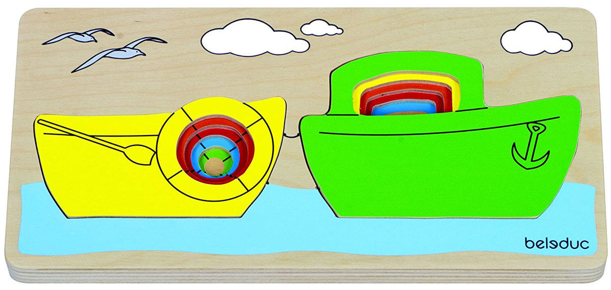 Beleduc Пазл для малышей Кораблик цены