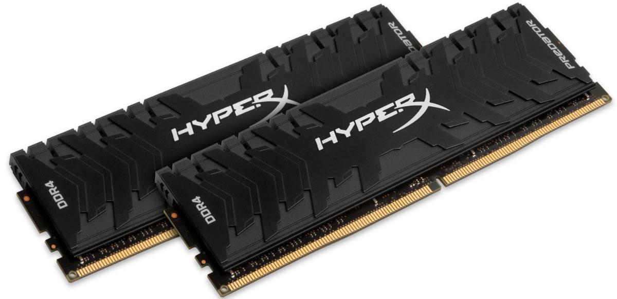 Комплект модулей оперативной памяти Kingston Predator DDR4 DIMM 8GB (2х4GB) 3200МГц (HX432C16PB3K2/8)